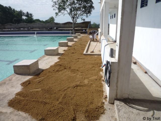 Sand Trocknen